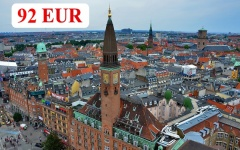 Charter flights from Burgas to Copenhagen and Billund 2019