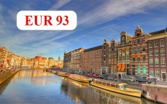 Charter flights from Burgas and Varna to Amsterdam / summer 2020